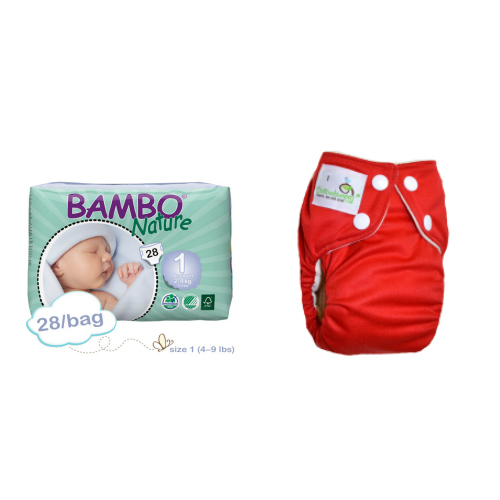 Weekly AIO Cloth & Paper Diaper Service